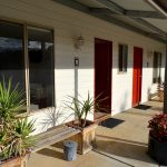 Goldfields Camp Unit 2 accommodation Verandah