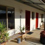 Goldfields Camp Unit 2 accommodation Verandah